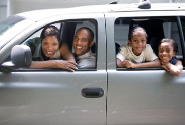 Renting a Van for Family Vacation