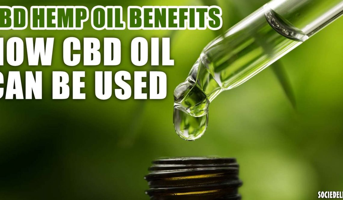 Possible Benefits of CBD Hemp Oil